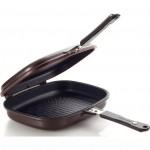 Двойная сковорода Джамбо Гриль с титановым покрытием. Серия Titanium