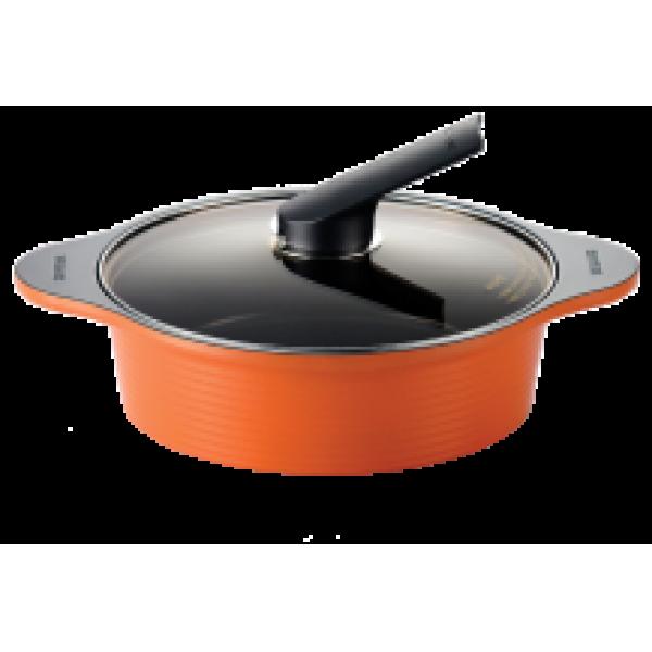 Кастрюля с керамическим покрытием низкая 2,8 л. Ceramic Pot 24 cm